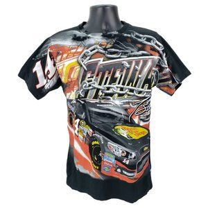Tony Stewart NASCAR All Over Print T-Shirt Medium